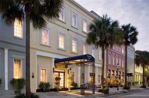 Charleston's Vendue Inn in Charleston, South Carolina - one of bedandbreakfast.com's top 10 b&bs in the US