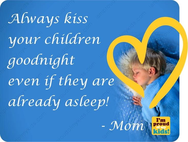Kiss goodnight