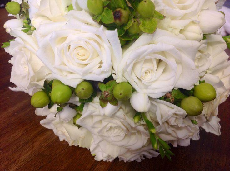 Roses,freesias & hyperican berries