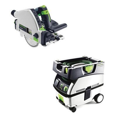 Fresh Buy Festool TS REQ Plunge Cut Saw with T Loc plus CT Mini