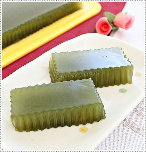 Honey Green Tea Jelly   Anncoo Journal