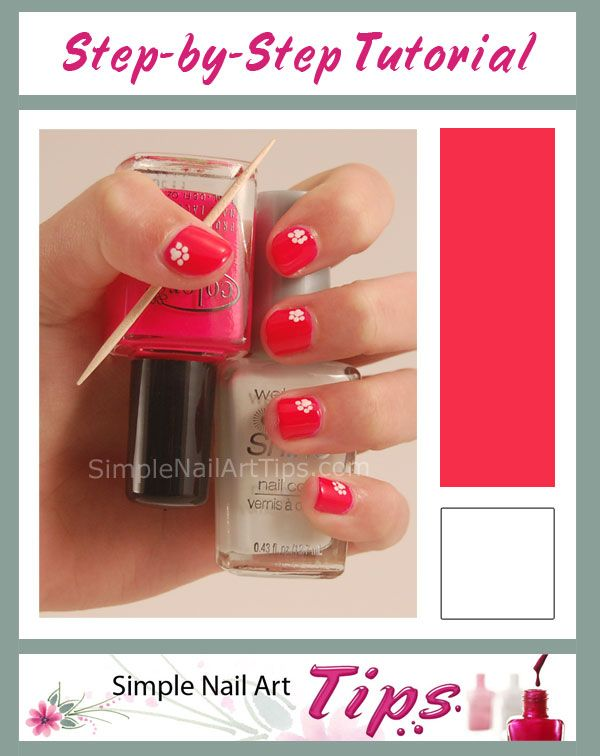 34 best simple nail art tips images on pinterest simple nail pink paw nail art tutorial nails prinsesfo Gallery