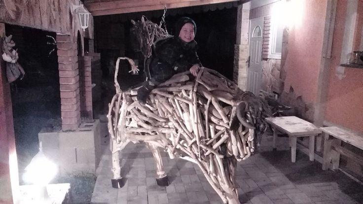 Driftwood bull