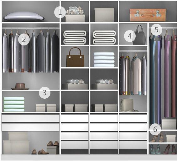 Aparador Inox E Vidro ~ Casal Linha Project Tok&Stok Closet Armários Pinterest Projetos e Vestidos