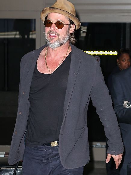 Star Tracks: Monday, May 18, 2015 | CALIFORNIA LOVE | After filming his latest movie in New Orleans, Brad Pitt touches down with a smile at LAX on Friday.