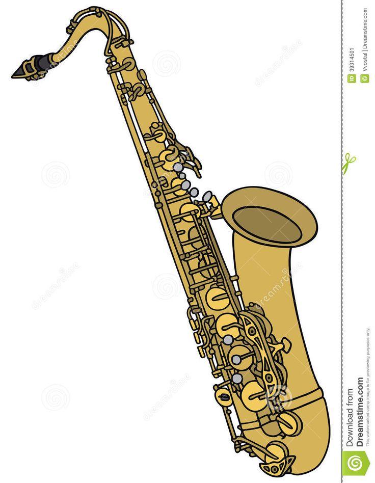 saxofon dibujo - Buscar con Google