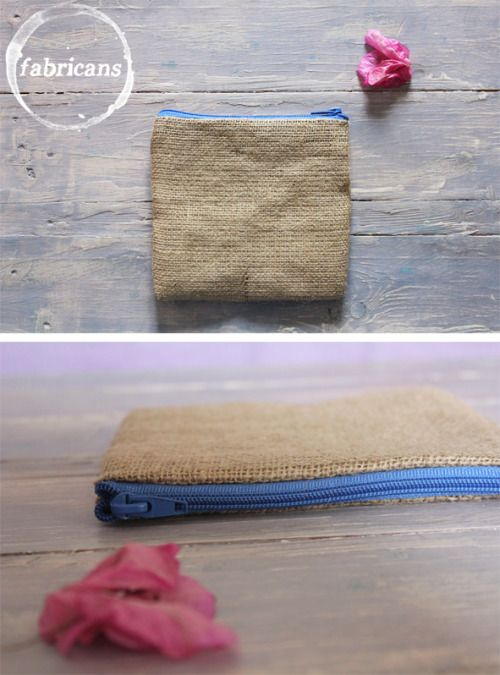 Linen fabric and canvas (inside) *