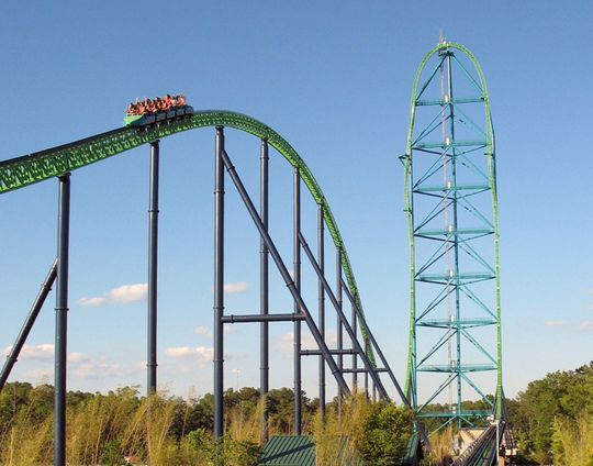 The 10 Fastest Roller Coasters At Six Flags Parks Six Flags Great Adventure Roller Coaster Biggest Roller Coaster