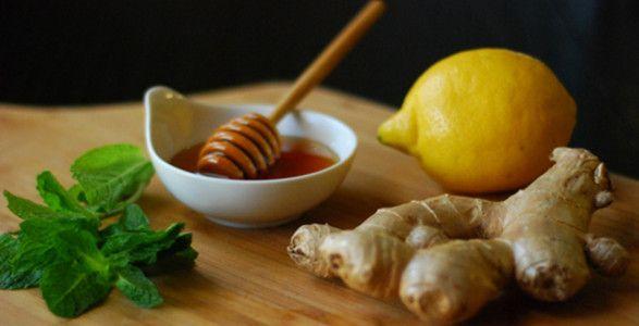 напиток из лимона, имбиря и меда для похудения