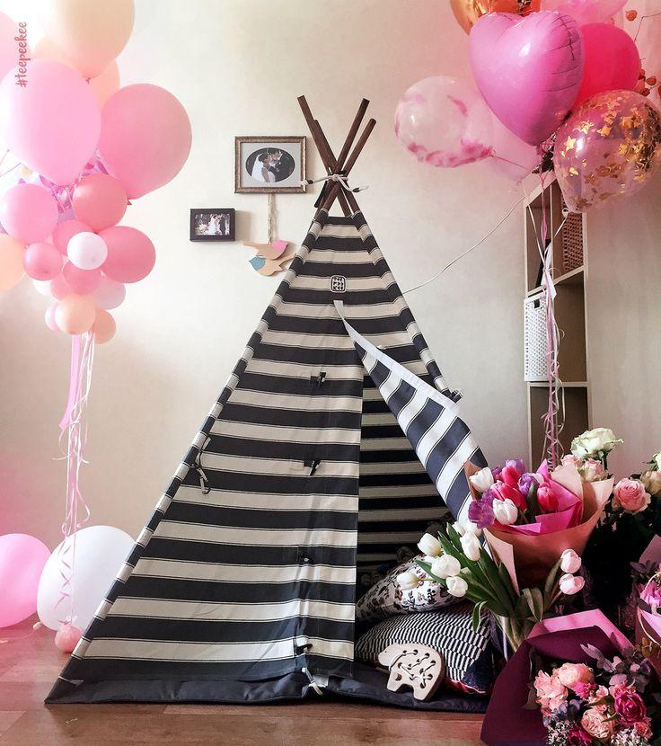 Дни рождения бывают разные! Блестящие, розовые🍧ванильные 🍭и даже красные, торты бывают всякие, низкие и многоэтажные, сладкие и конечно же шоколадные... А настроение на празднике должно быть всегда ярким и конечно же радужным🌈😜🙈🏹Доброе утро вам и с днём рождения всех у кого сегодня именины❤️Улыбок вам😍 . . . . #asseeninvogue #interiordesign #interiordecor #kidsdecor #kidsroom #teepeekee #interiorinspiration #kids #homedecor #decor #kidsroomdecor #kidsinteriors #kidsinterior…