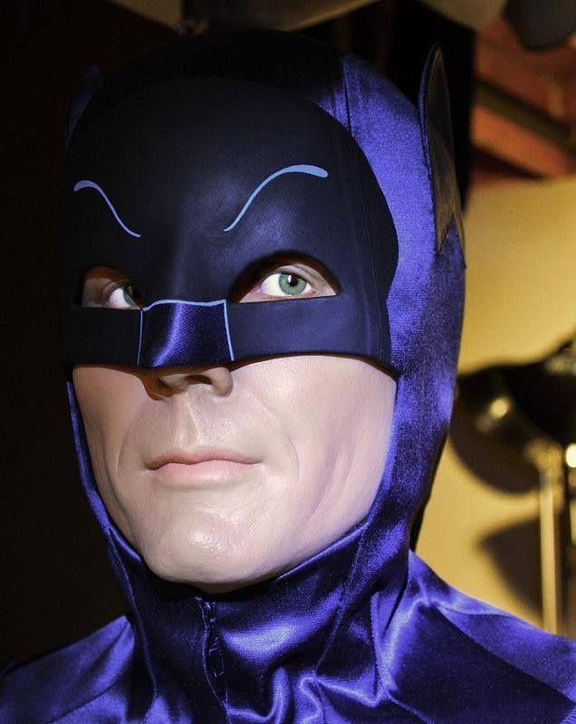 "A beautifully done 60's Adam West ""Batman"" tribute piece by Chuck Williams."