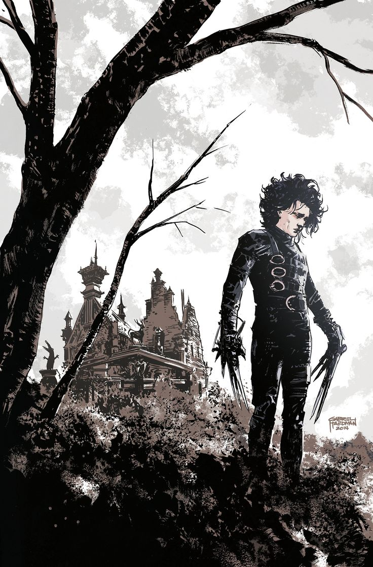 Edward Scissorhands by Gabriel Hardman *