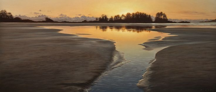 Tidal Pool at Nightfall, by Ray Ward