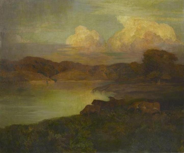 Réne Ménard - Le troupeau (1901)