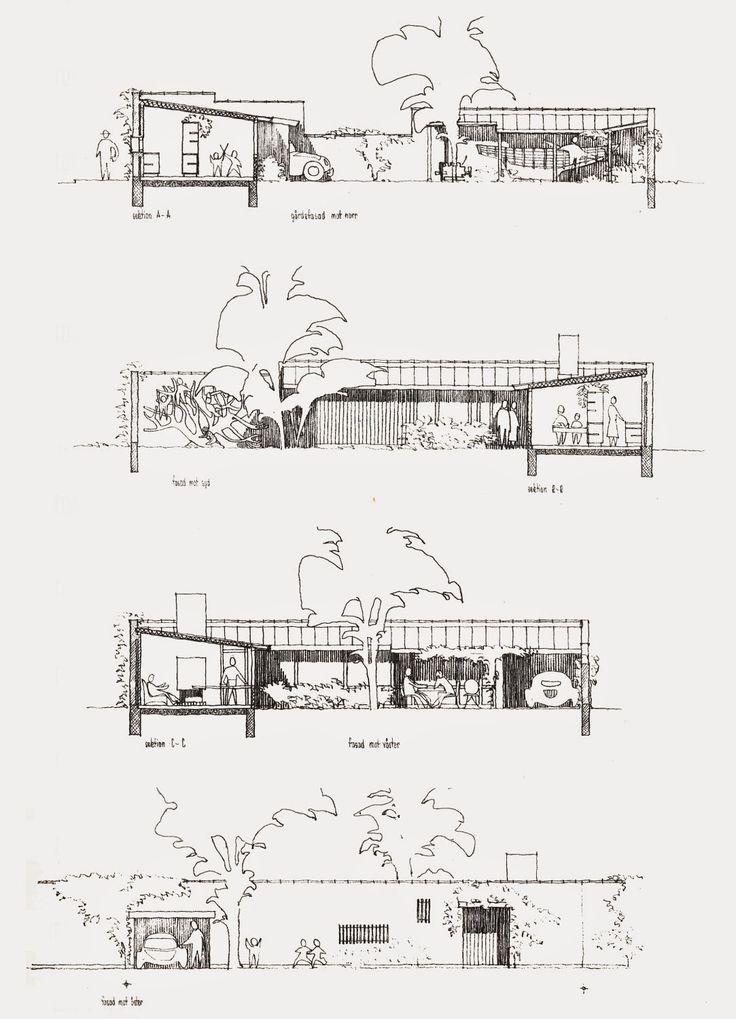 A House for Crossed Crocodiles: Kingo Houses - Jørn Utzon