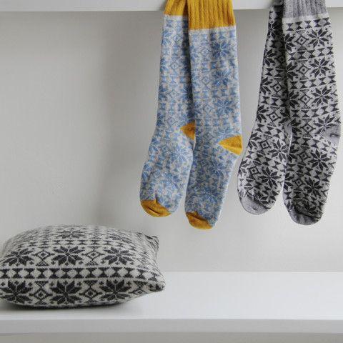 Catherine Tough handmade lambs wool socks – tea and kate