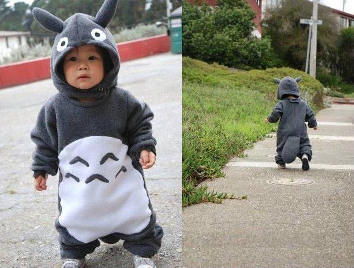 totoro baby costumeCosplay, Totoro, Children, Baby Things, Kids, Costumes Ideas, Studios Ghibli, Animal, Halloween