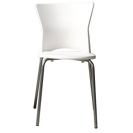 Hampton KD Chair White