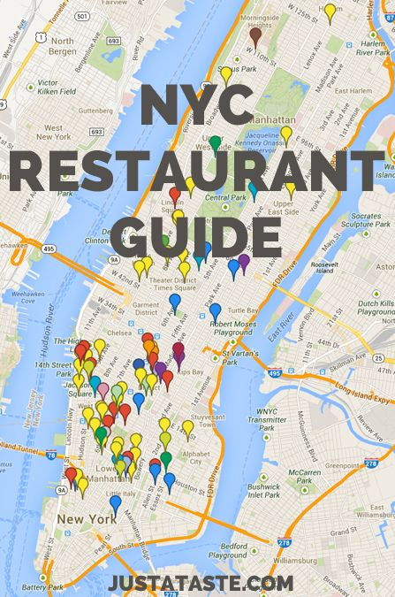New York City Restaurant Guide // Just a Taste.