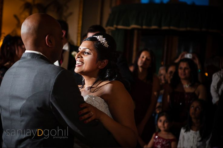 1st dance at wedding reception party at Moor Park Mansion in Hertfordshire
