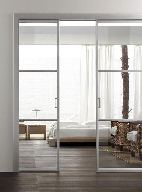 Oltre 25 fantastiche idee su tende a porta scorrevole su - Apertura di una porta in un muro portante interno ...