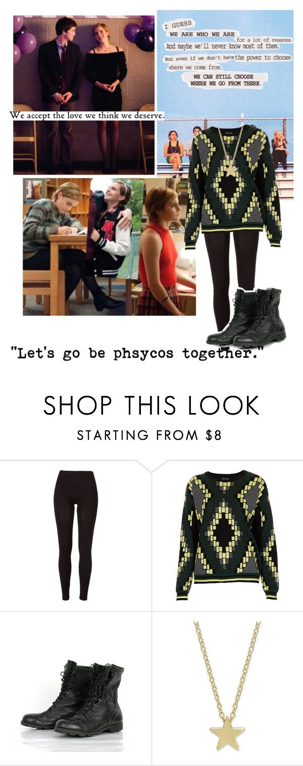 """""""Sam """"Perks of Being a Wallflower"""""""" by rebecca-lovell ❤ liked on Polyvore featuring Wallflower, Emma Watson and Topshop"""
