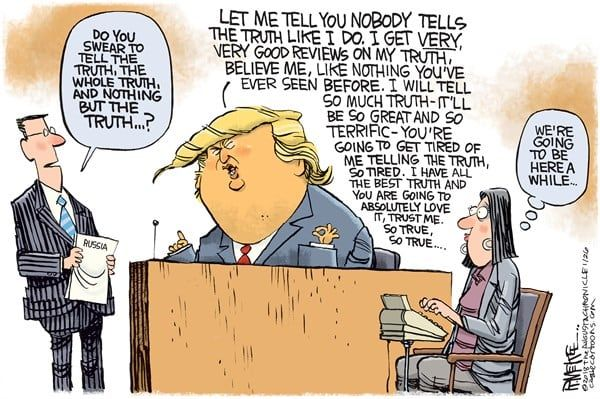 Image result for trump speech cartoons