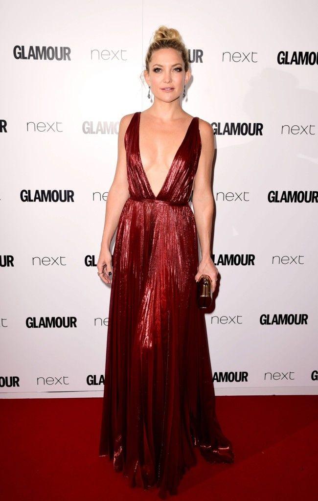 Kate Hudson de J.Mendel en los premios Glamour Women of the Year 2015