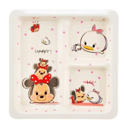 Minnie and Daisy Tsum Tsum Melamine Cafe Plate