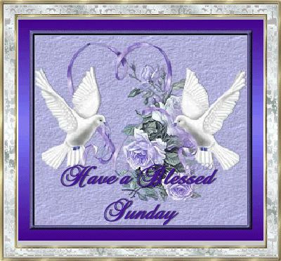 Have a Blessed Sunday animated sunday graphic sunday greeting sunday blessing sunday quote