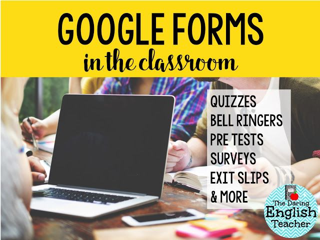 Out of all of the different resources available to teachers in the Google Apps for Education platform, Google Forms is, in my opinion, one of the most valuable resources.  Ever since I started using G