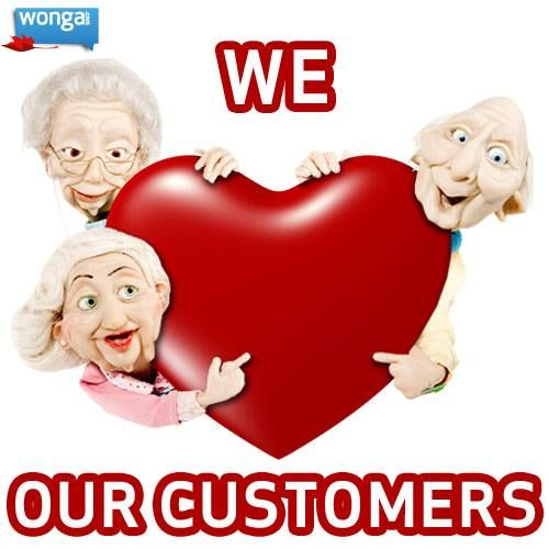 """Look out for our customer survey email. We give away three $100 cash prizes each month to three lucky people.  """"It is super easy to apply online. It is also very quick. One gets money within a few hours, which makes it wonderful for someone like me a single mom with the odd emergency."""" - Wonga Customer"""