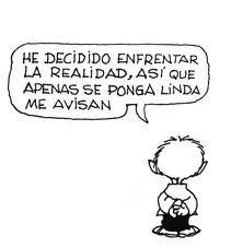 Mafalda hermosa!