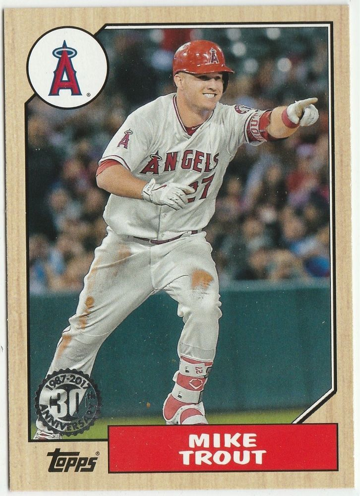 2017 Topps '87 Topps Insert Complete Your Set Pick Cards