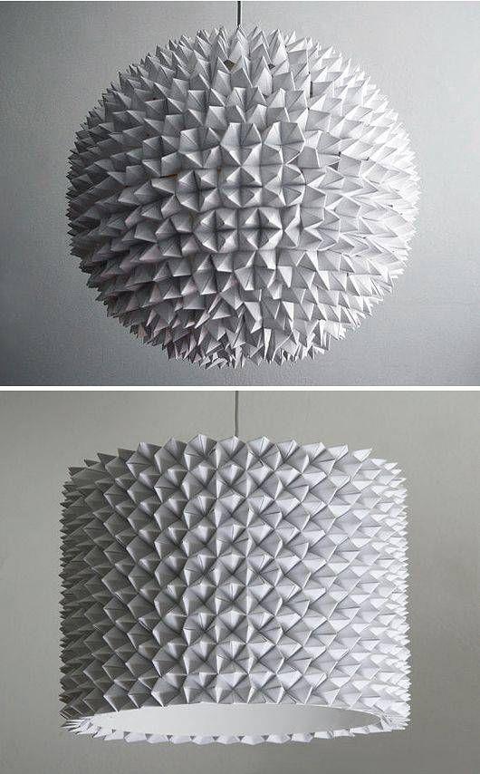 lamparas de papel - 12