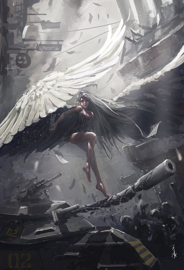 judge_by_wlop-d698uan - Digital Paintings by Wang Ling   <3