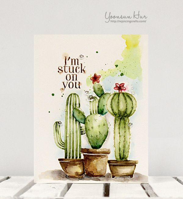 RejoicingCrafts: No-line watercolour card Hero Arts Your ...
