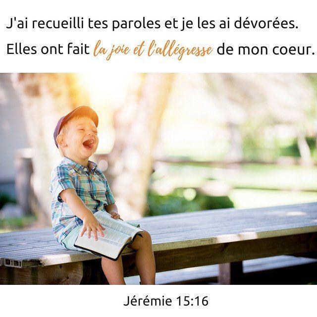 Jérémie 15: 16