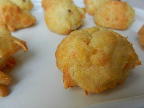 GOUGERES AU SAUMON - C secrets gourmands!! Blog de cusine, recettes faciles, à préparer à l'avance, ...