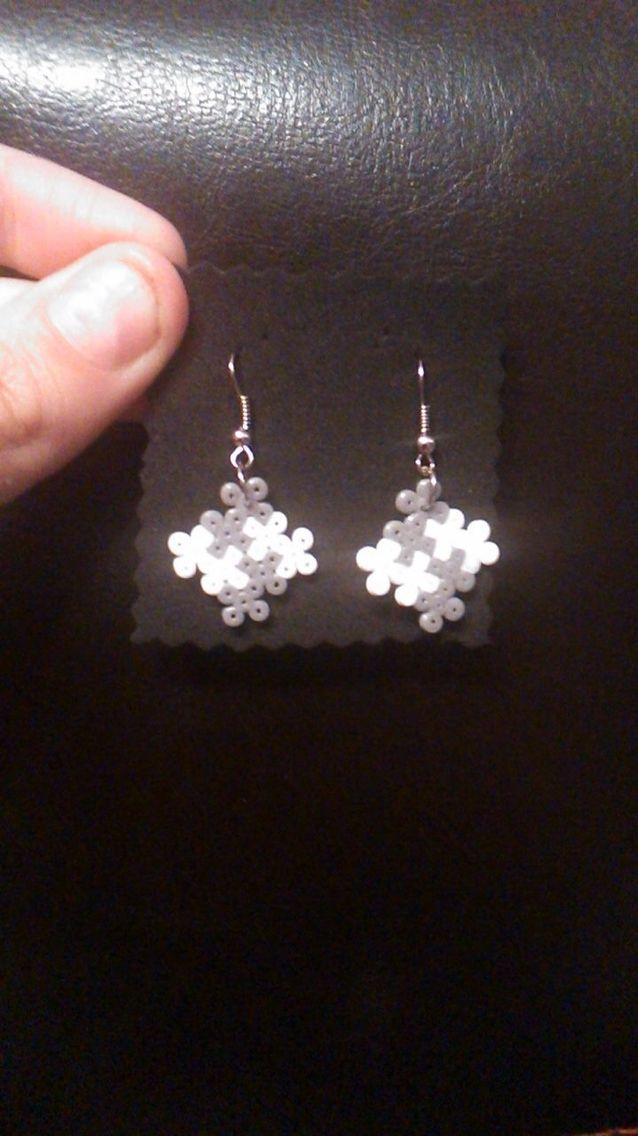 Aretes de hama Beads