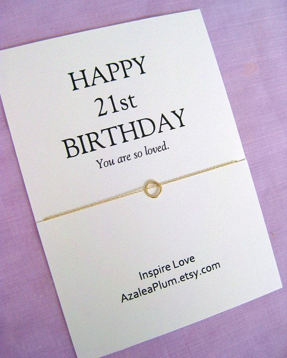 21st Birthday Gift For Daughter Her Solid Gold Necklace Ideas
