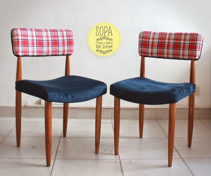 17 mejores im genes sobre productos sopa en pinterest - Como tapizar sillas antiguas ...