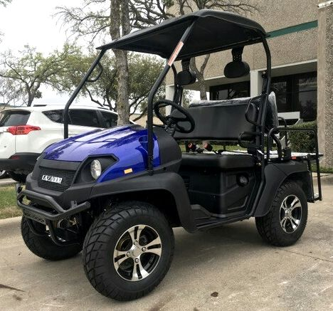 Brand New Gas Golf Cart UTV Hybrid Linhai Big Horn 200 GVX Side by Side UTV With Custom Rims/Tires