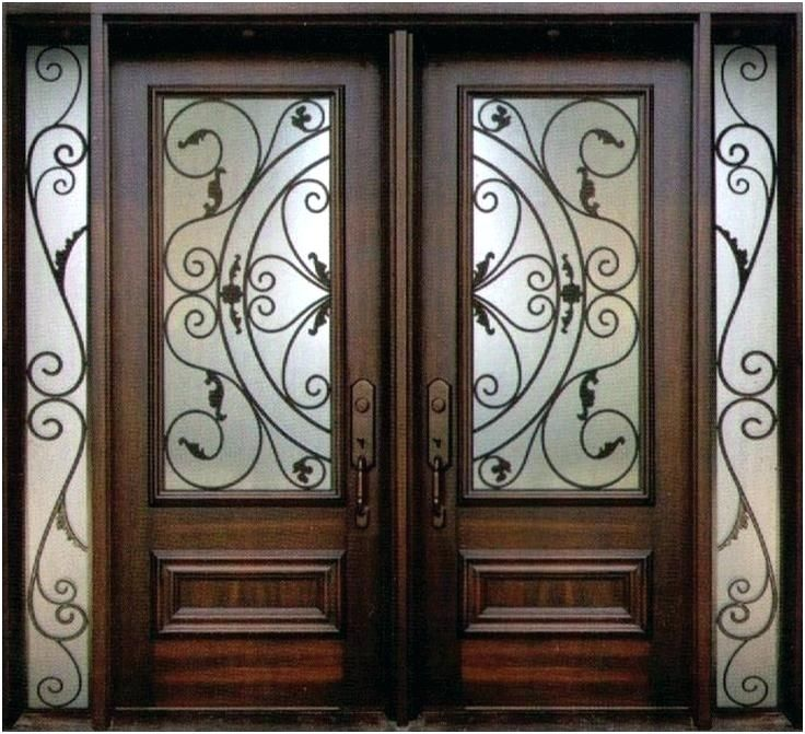 Iron Front Doors Houston Wrought Iron Entry Doors Front In 2020