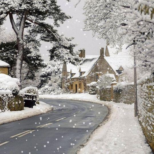 7 (rörliga) bilder till alla som älskar ett stilla snöfall - Sköna hem