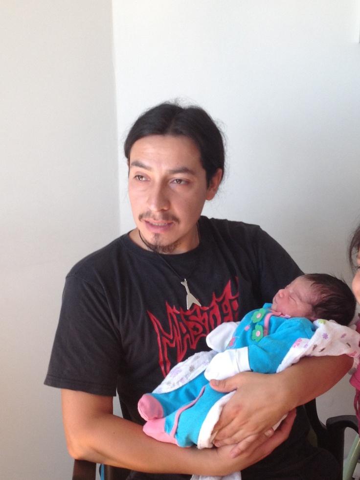 Tío chocho con su sobrina