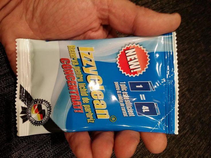 Pentru un parbriz curat foloseste detergentul de la IzzyClean. Cu doar 40ml poti obtine 4L solutie de spalat parbrizul. http://www.izzyclean.ro/produse/concentrat-lichid-spalat-parbriz/