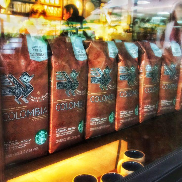 Vitrina café Colombia.