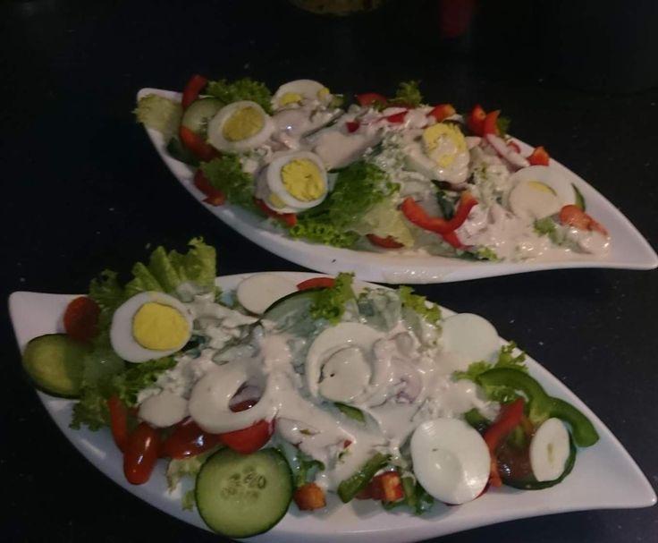 Rezept Weiße Salatsoße - Wie beim Italiener von Chrimibu - Rezept der Kategorie Saucen/Dips/Brotaufstriche