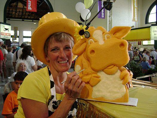 cheese lady sarah kaufmann cheese cow